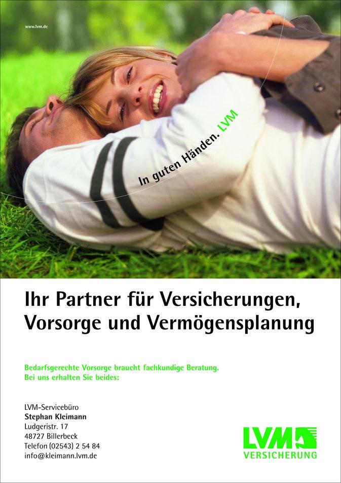 WG Billerbeck, Kleimann, Billerbeck, Versicherung, LVM
