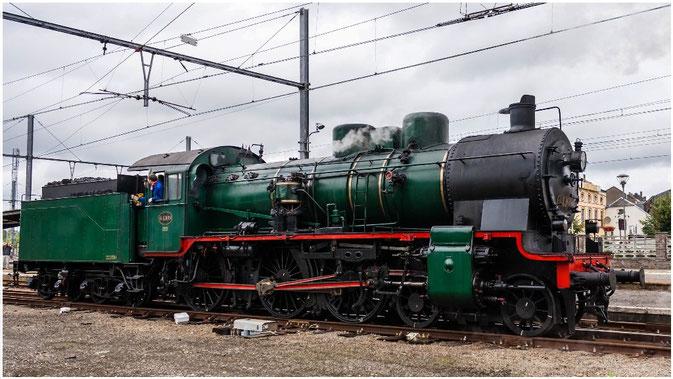 64.169, Belgische Dampflok BR 64, Wisé