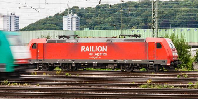 BR 185 - RAILION - Bhf Aachen-West