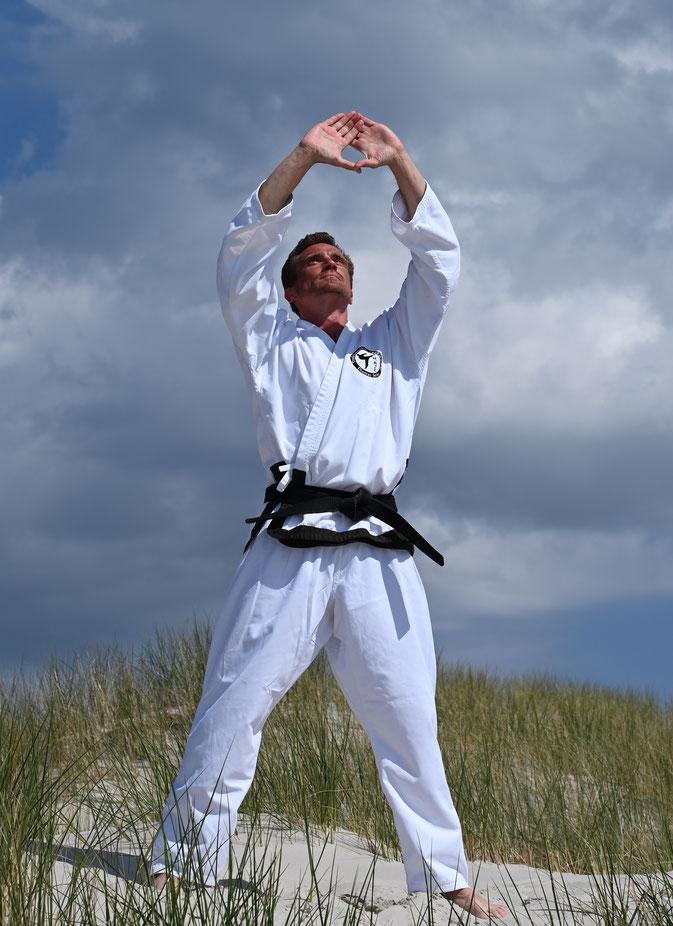 Thomas Seiler, 2. DAN Schulleiter und Lehrer für Traditionelles Taekwondo der Sportschule - Adelzhausen