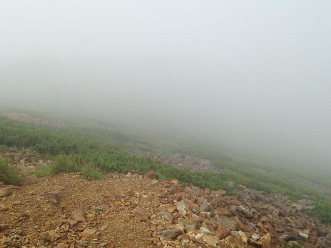 霧が、、、
