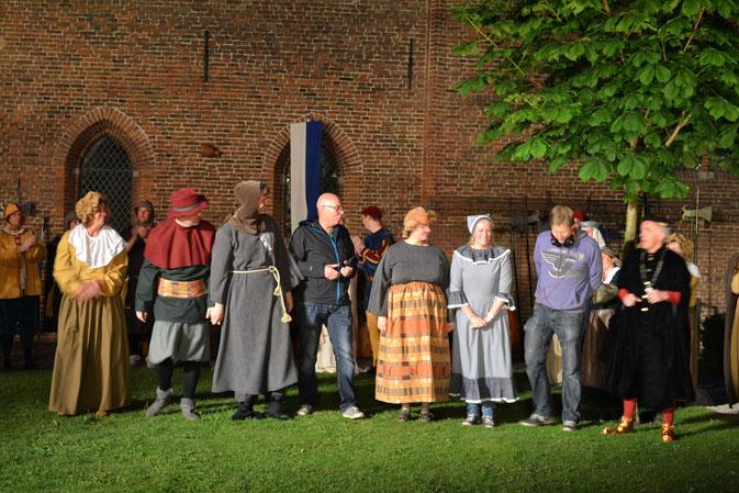 van links naar rechts: Annemiek Schuyn, Kees van de Streek, Freek van der Heide, Marien Pruis, Anne-Marie van Hout, Dirma Speldekamp, Bart Pruis, Joop Zwart