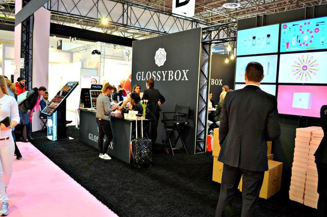 Beauty Düsseldorf - Glossybox ist auch dabei