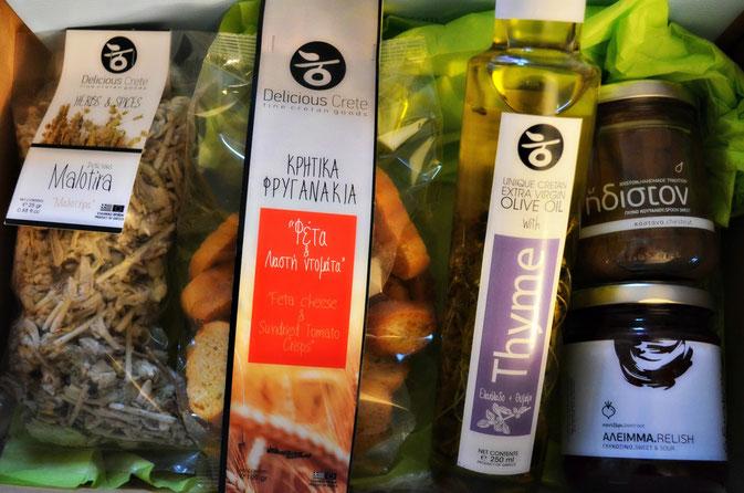 5 griechische Delikatessen