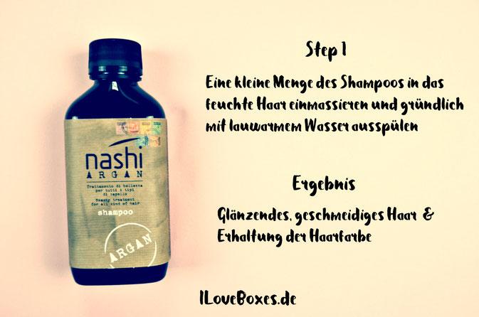 Shampoo mir Arganöl
