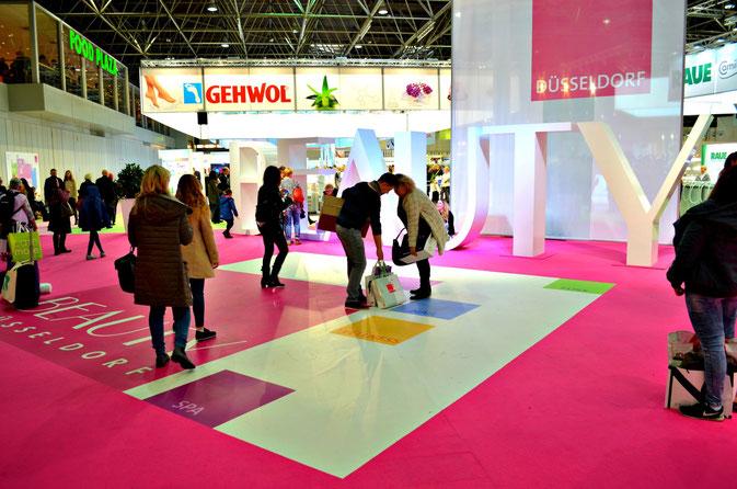 Eingangsbereich der Beauty Düsseldorf