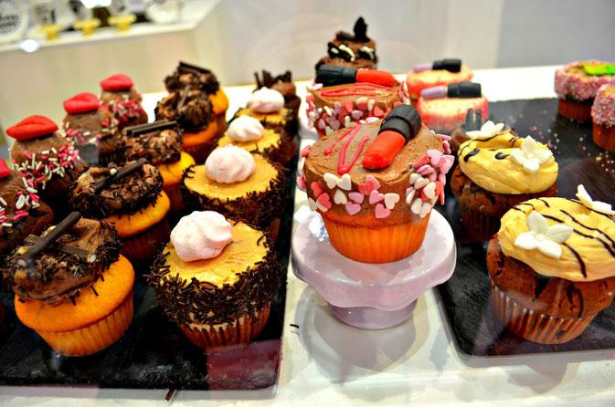 Cupcakes auf der Beauty Düsseldorf