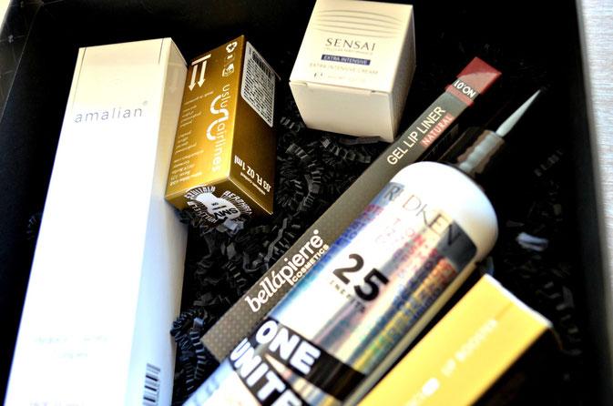 Lifestyle Box mit sechs Beauty Artikeln
