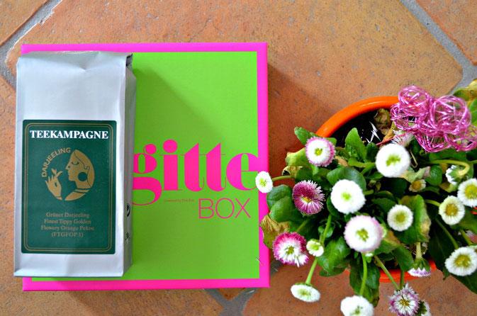 Grüner Tee in der Brigitte Box