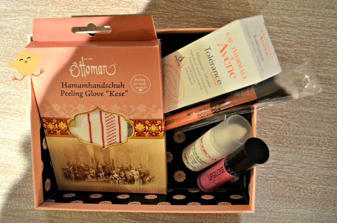 5 Beauty Produkte in der Glossybox März