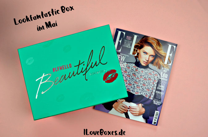 Lookfantastic Box Mai 2016