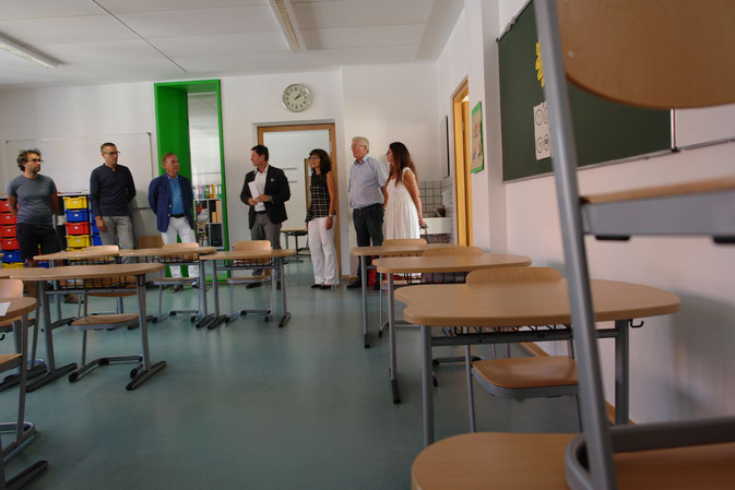 Neue Räume in der Bräugassenschule, Foto: Dr. Franz Janka