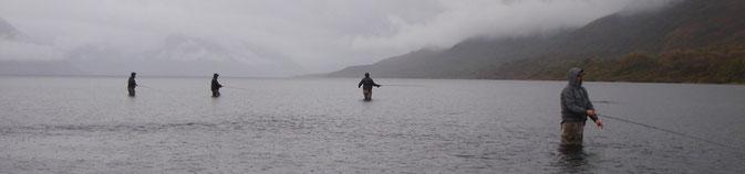 Fishing Karluk Lake