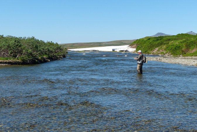 upper end Funnel Creek Alaska