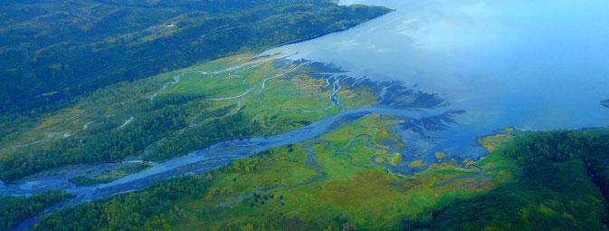 Flyfishing Karluk River, Kodiak Island, Alaska