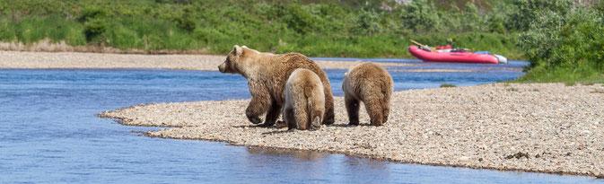 Float Trip Moraine Creek Alaska