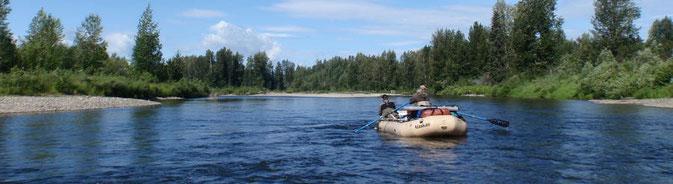 Floattrip Talachulitna River, Alaska