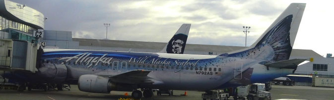 Alaska Airline in Anchorage