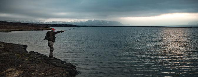 Eric Arbogast, Lake Tingvallavatn, Iceland Flyfishing