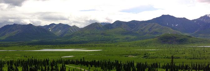 Familienurlaub Alaska, Camperfahrt rund um Alaska, Fischen Angeln Fliegenfischen