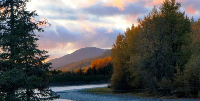 Kenai River Confluence Russian River, Alaska