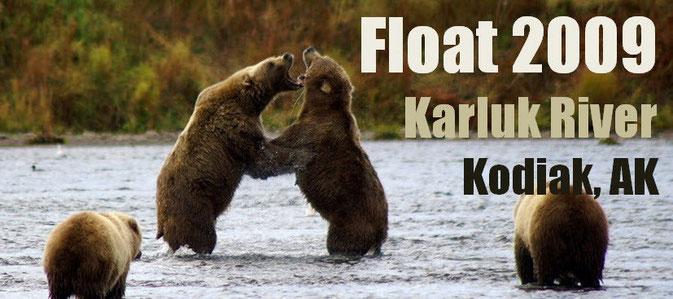 Floattrip Karluk River, Alaska