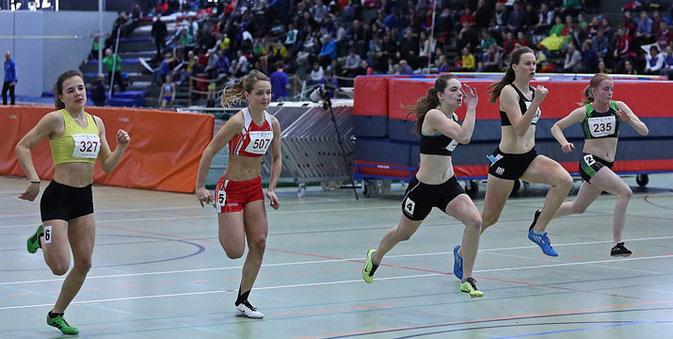 Svenja Moll gewinnt den B-Final im Sprint