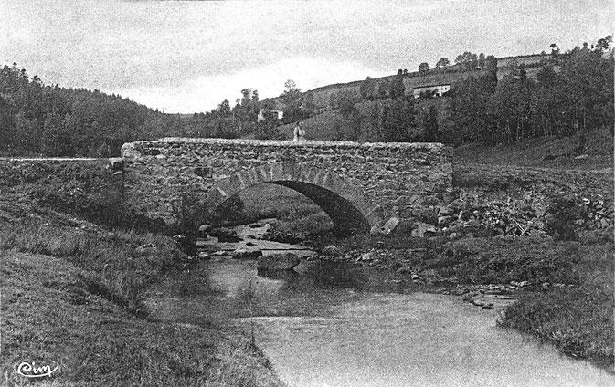 Le lignon sur la commune de Jeansagnière il y a.... longtemps