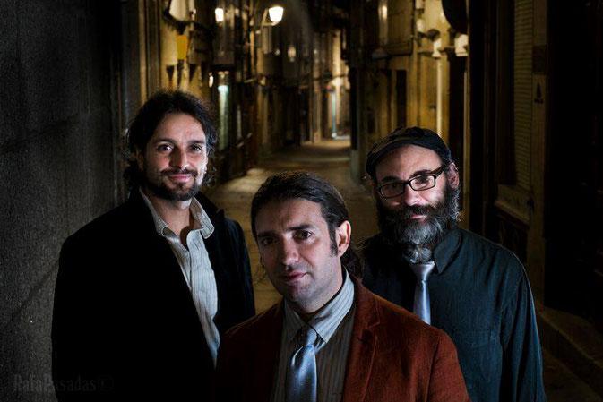 Apple Three: Narci Rodriguez, Pablo Castanho, Marcos Pin. Fotografía: Rafa Pasadas