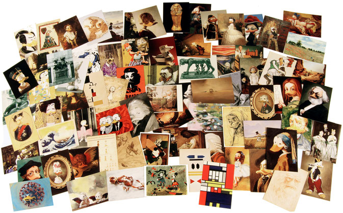 DUCKOMENTA Postkarten