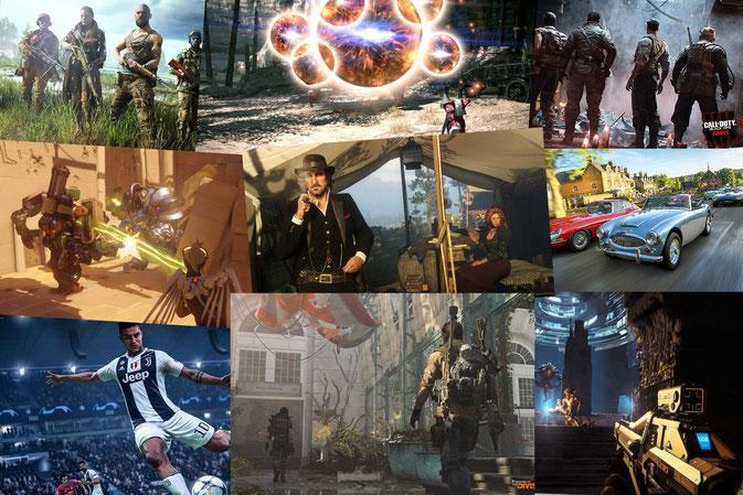 Beste Online Spiele - Übersicht