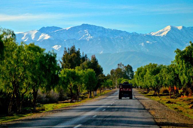 zwischen Marrakesch und dem Atlas
