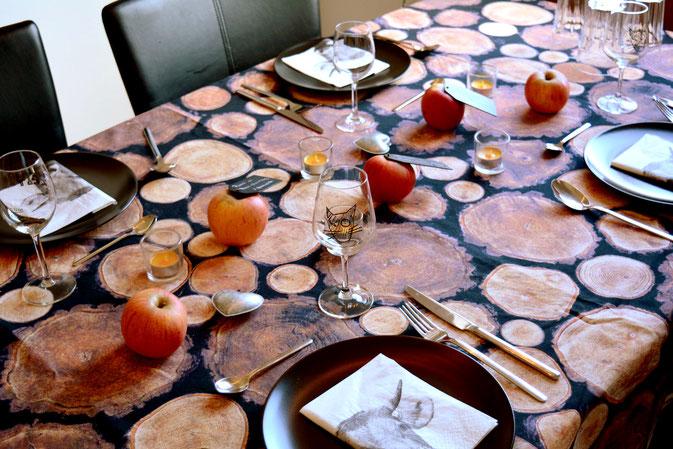 Pi mal Butter Mädchenvöllerei Food Blog Tischdeko gedeckter Tisch Herbstgedicht