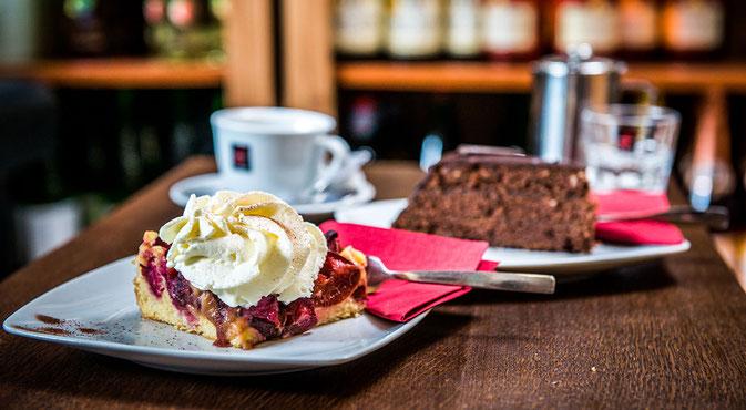 Foto unserer köstlichsten Kuchen und Torten