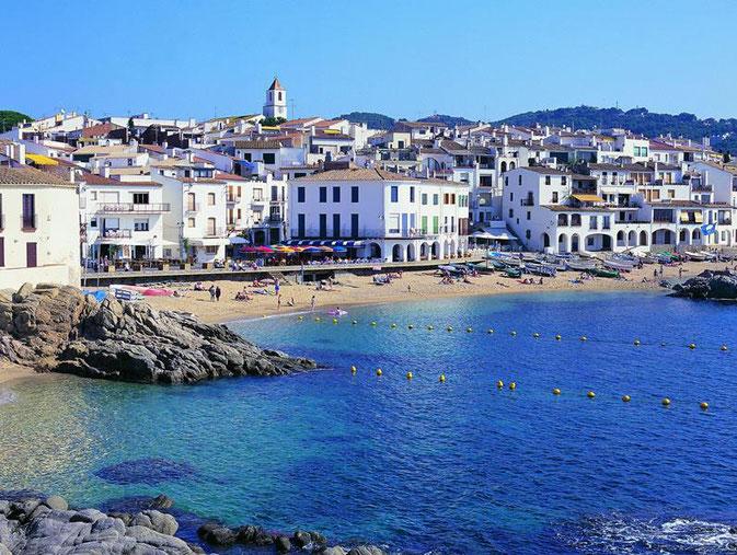 Калелья-де-Палафружель - самые красивые приморские городки Испании