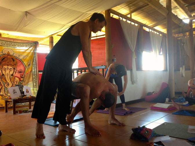 Yoga teacher training Santosha, Canggu, Bali - Yoga Teacher Training in Canggu, Bali Week 1 & 2  © Melanie Klien @Mafambani