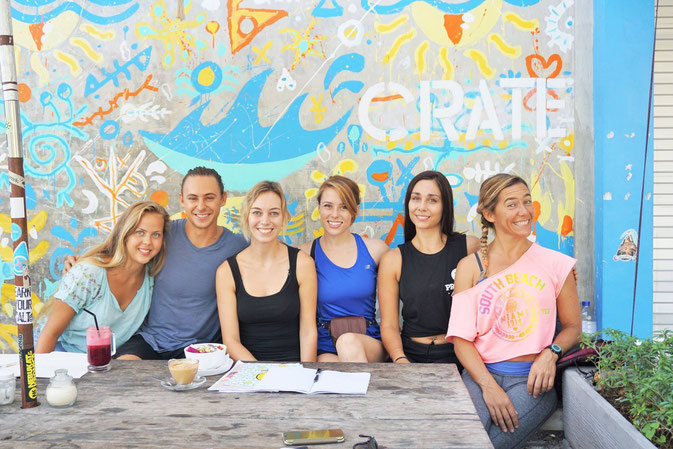 Crate Cafe, Canggu, Bali - Yoga Teacher Training in Canggu, Bali © Natassia Johnsen @Mafambani