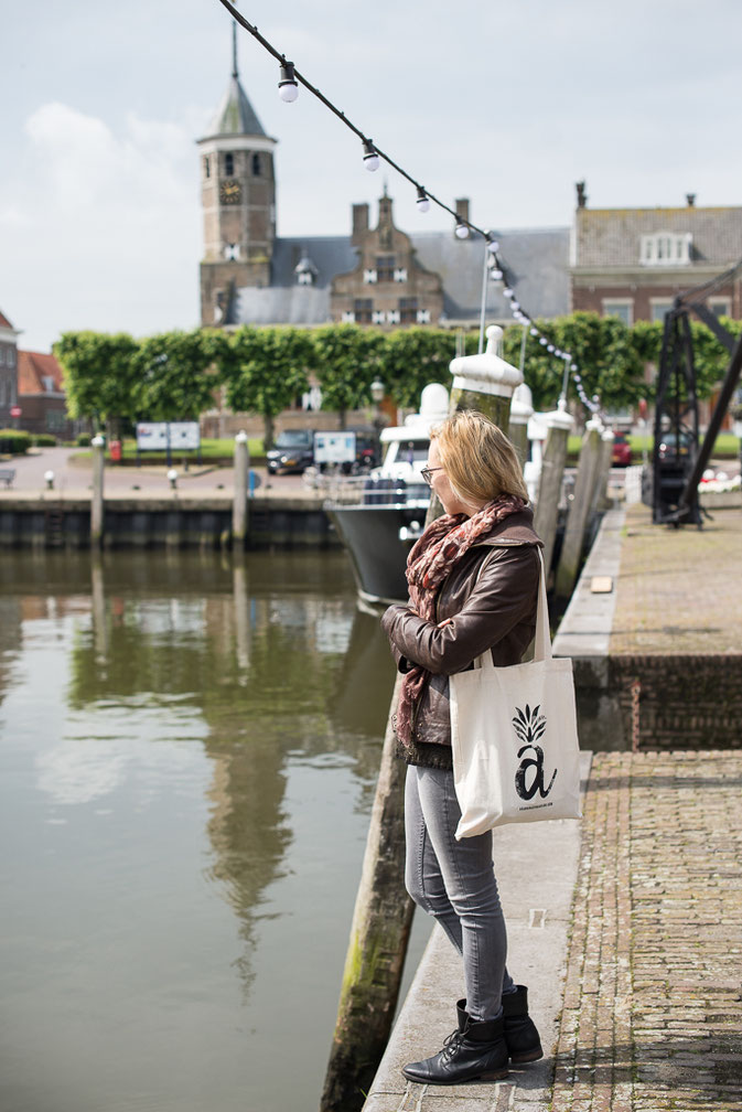 Willemstad port with my Asananas Yoga Club bag © Nussbaumer Photography @Mafambani @nussbaumerphotography