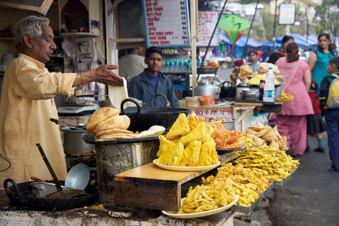 Indian Food, Mussoorie, India copyright Michael Nussbaumer, Nussbaumer Photography