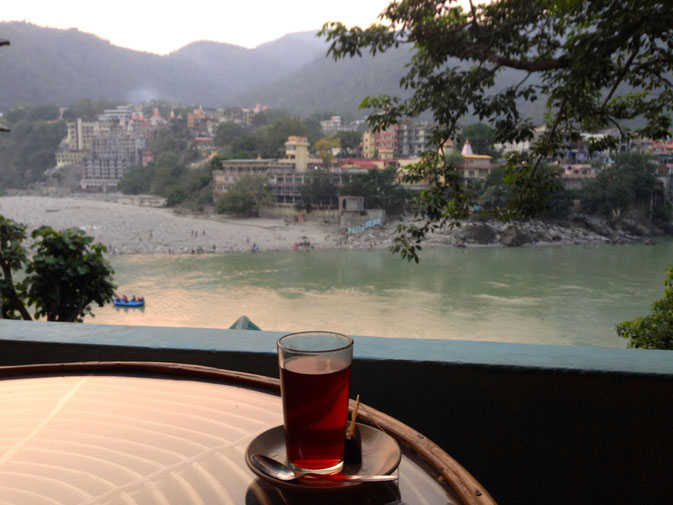 Tea in Rishikesh, India