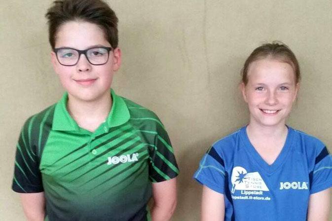 Bastian und Medeea qualifizierten sich beide jeweils doppelt fürs Top24!