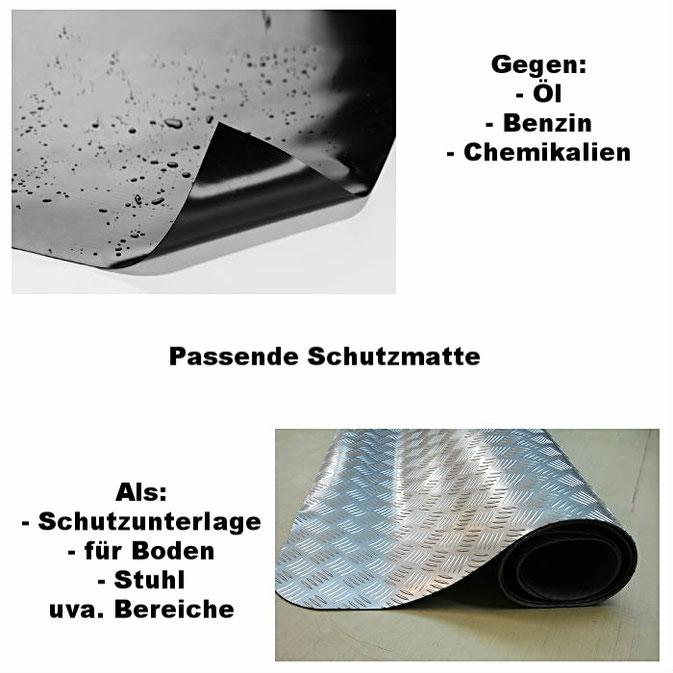 Schutzmatten aus PE oder PVC