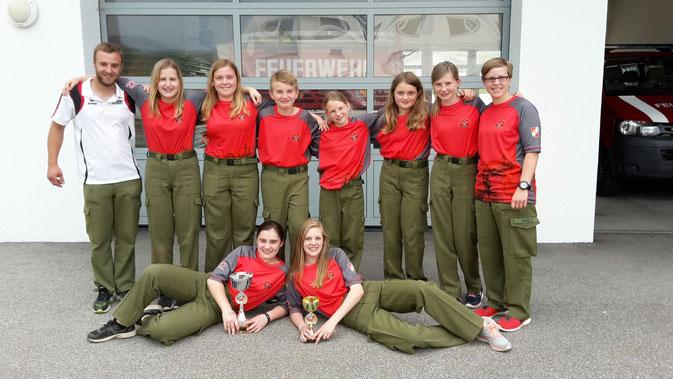 Jugendgruppe im Mai 2016