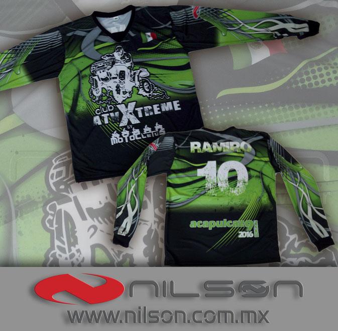 jersey motocross  sublimacion fullcolor nilson ropa deportiva