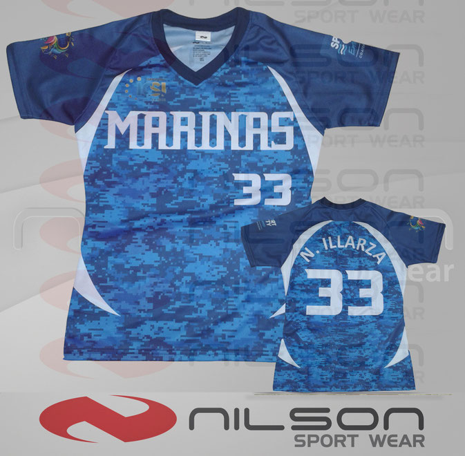 nilsona baseball sublimado digital