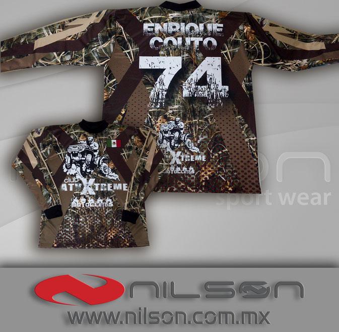 jersey nilson sublimacion fullcolor manga larga motocross