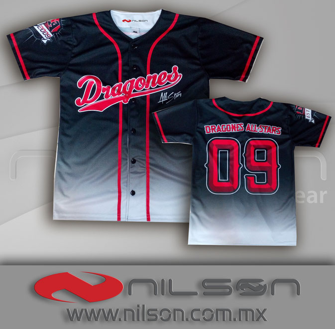 jersey sublimacion fullcolor beisbol nilson ropa deportiva
