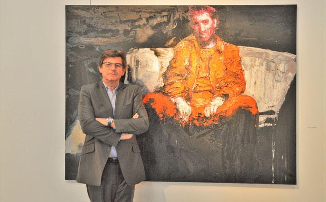 """Guillaume Cuiry, Kurator und Inhaber der """"La Galerie Nationale"""""""
