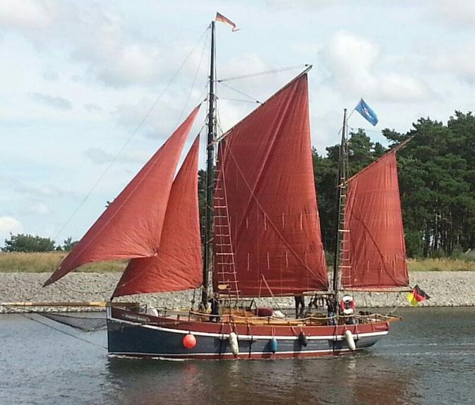 Ein unvergessliches Erlebnis mit der August Ipsen zu segeln.