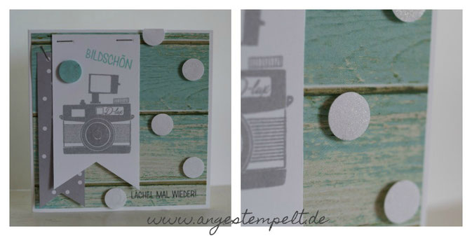 "Stampin´Up! Karte mit ""Wortspielereien"" - Patricia Stich 2016"